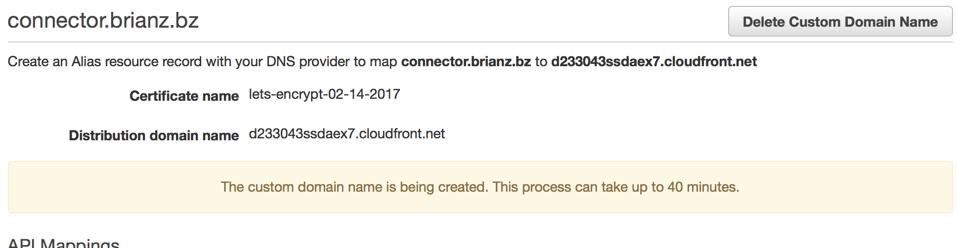 Cloudfront creat