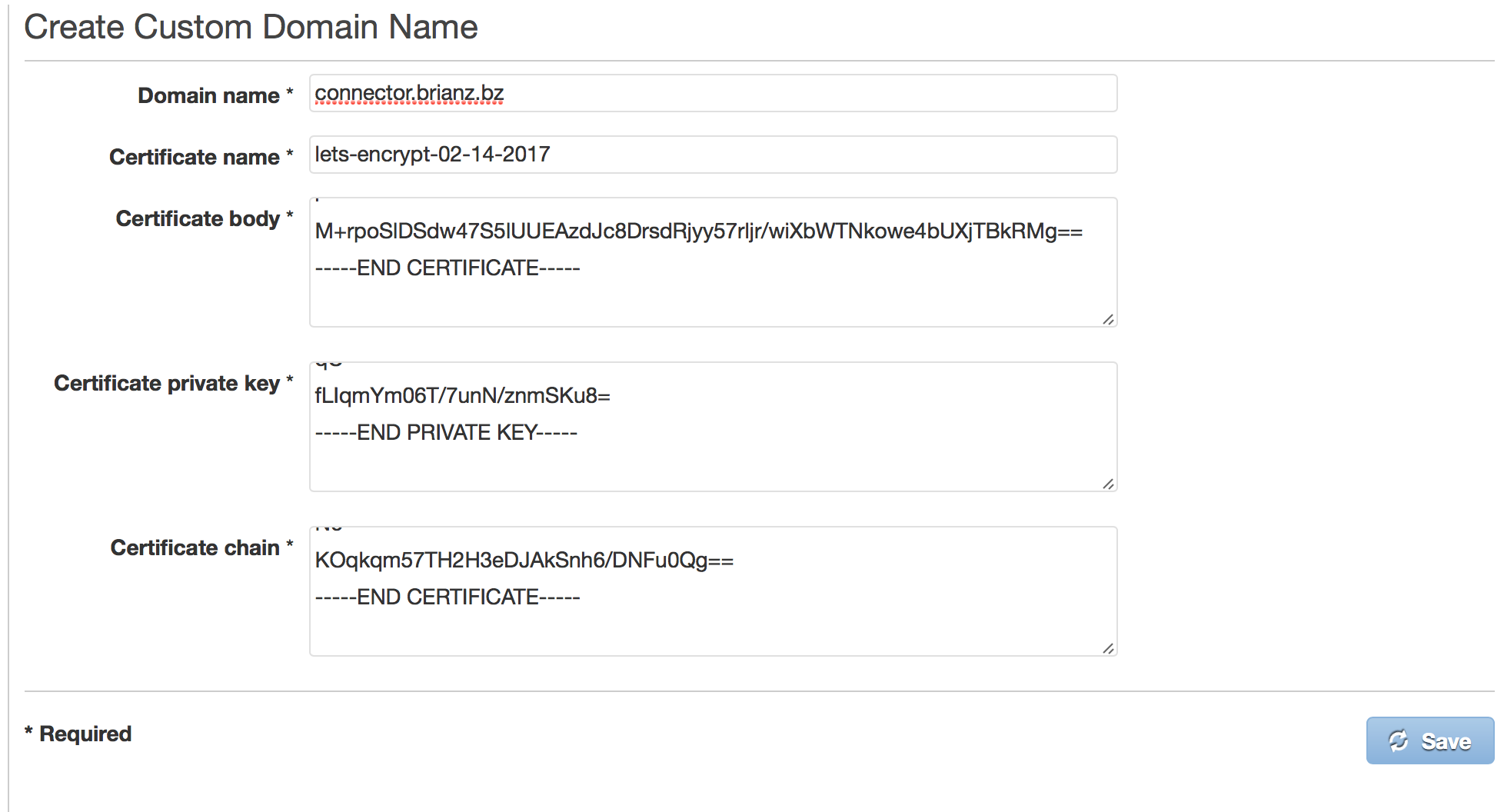 How to setup a free ssl certificate for use with serverless apis creating custom domain xflitez Image collections